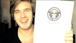 A WORLD RECORD! - (Fridays With PewDiePie - Part 64)