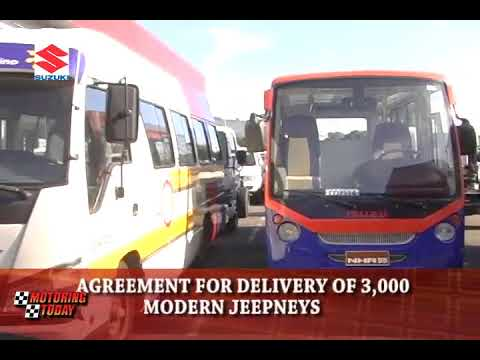 Agreement for Delivery of 3,000 Modern Jeepneys   Motoring Forum