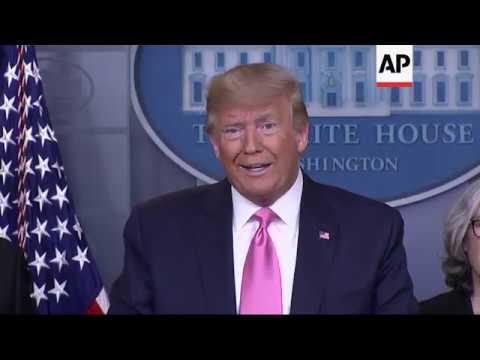 Trump Doesn't Think Virus Spread 'inevitable'