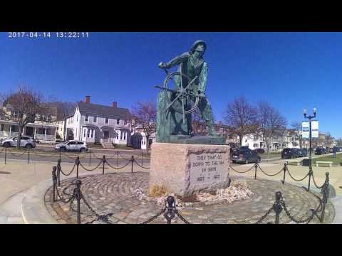 Gloucester Massachusetts - Old Man Of The Sea - Fisherman's Memorial