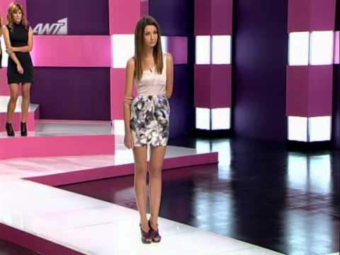 Greece's Next Top Model S2 / E5 [ 4 of 6 ] ANT1 GR ( 15/11/2010 )