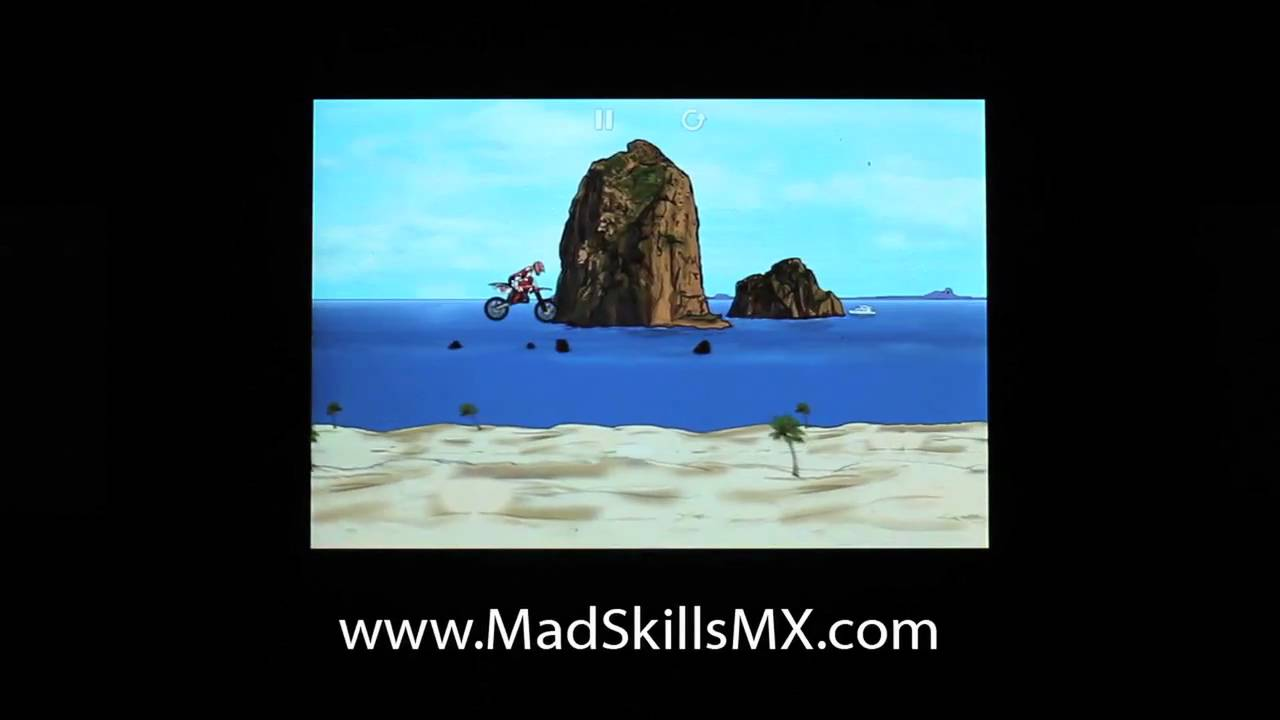Mad Skills MX Social Tracks