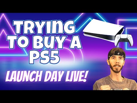 Attempting to Buy the PS5 from Walmart - PlayStation 5 Launch Day