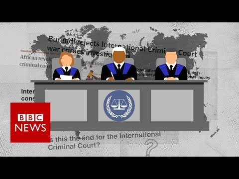 Why Is The International Criminal Court Under Attack?  - BBC News