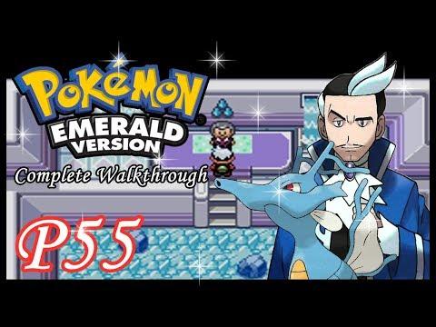Pokemon Emerald - CW - Part 55: Sootopolis Gym Leader Juan (HD 1080p)