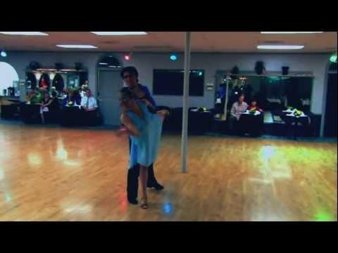 Ruxanda Calistru and Michael Kielbasa dancing Rumba