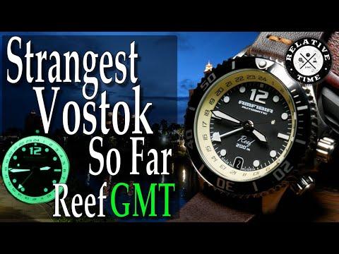 Dual Bezel Vostok? Amfibia Reef GMT Review ( 2426/080481 )