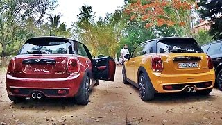 Rev Battle - ArmyTrix Mini Cooper S vs JCW Mini Cooper S (2016)