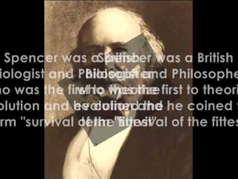 "Herbert Spencer ""the Greatest Individual of the 19th Century"""