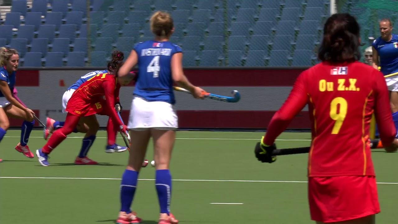 #Azzurrehockey: Italia-Cina 2-2