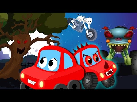 Little Red Car Rhymes - little red car | scary nursery rhymes | compilation for kids