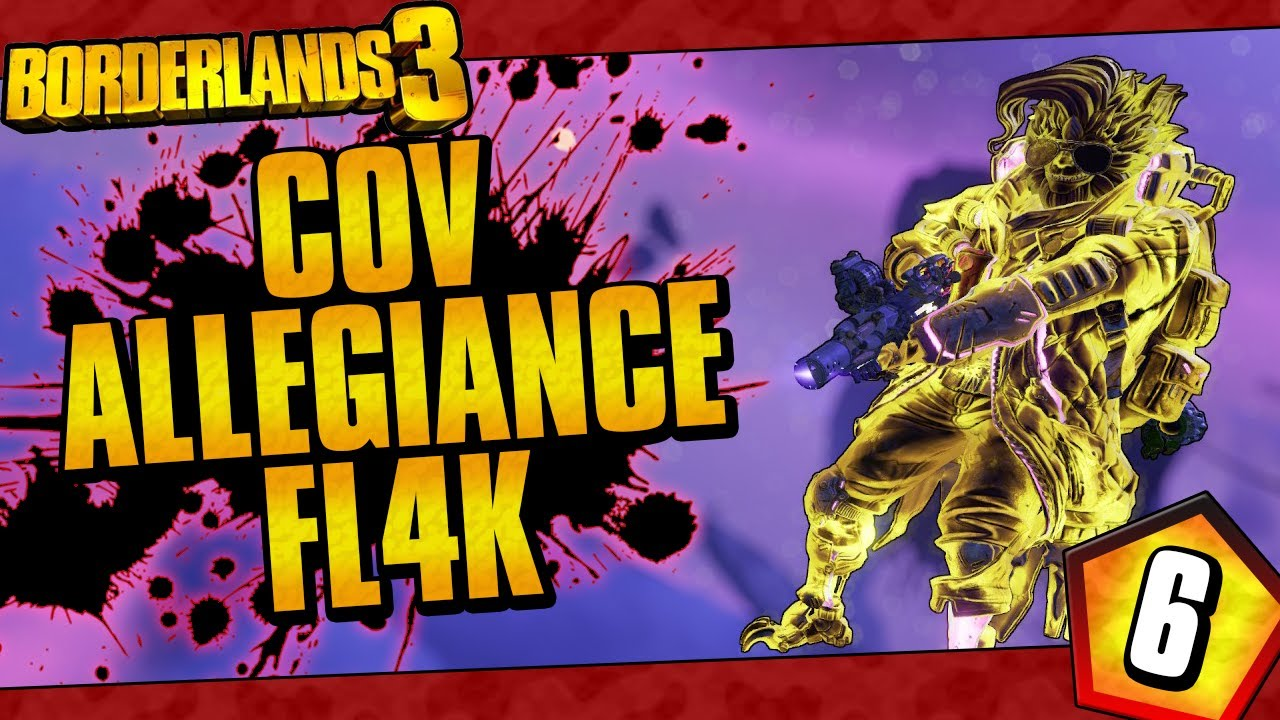 Borderlands 3 | COV Allegiance FL4K Funny Moments And Drops | Day #6 thumbnail
