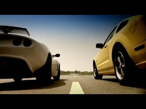 Lotus Exige vs Ford Mustang – Top Gear – BBC