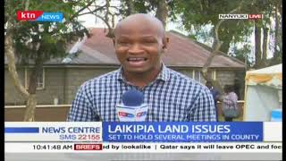 Land CS Faridah Karoney meeting Laikipia County residents over land tussles