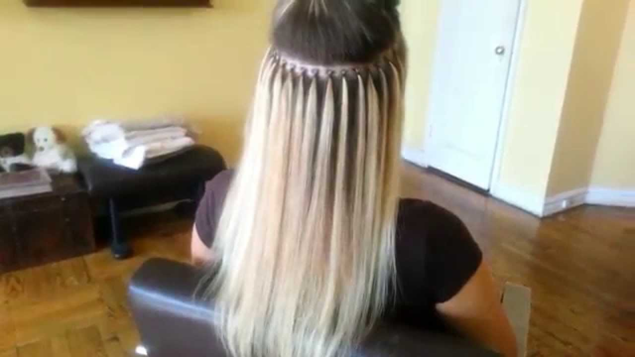 Brazilian Knot Hair Extension New York Youtube