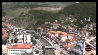 Prizren from the helicopter