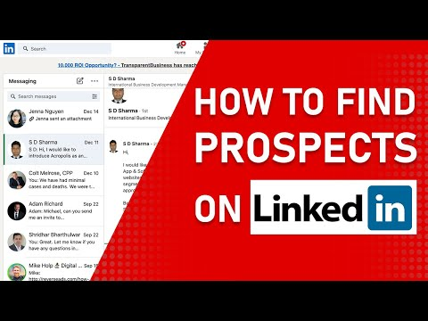 How to Find Prospects and Generate Leads on LinkedIn
