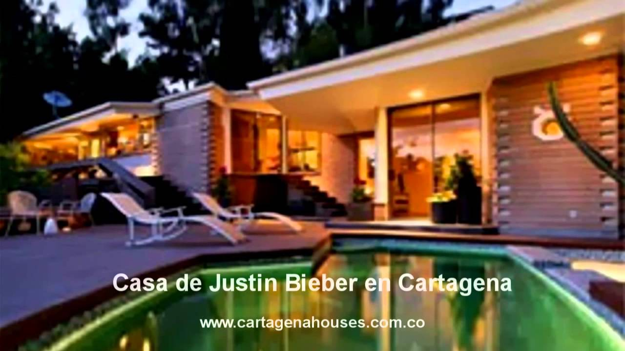 Cartagena Houses  Casa de Justin Bieber en Cartagena por dentro  YouTube