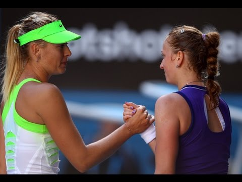 Maria Sharapova VS Petra Kvitova Highlight 2012 AO SF