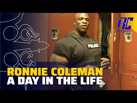 Ronnie Coleman - Day in the life as a Police Officer in HD!