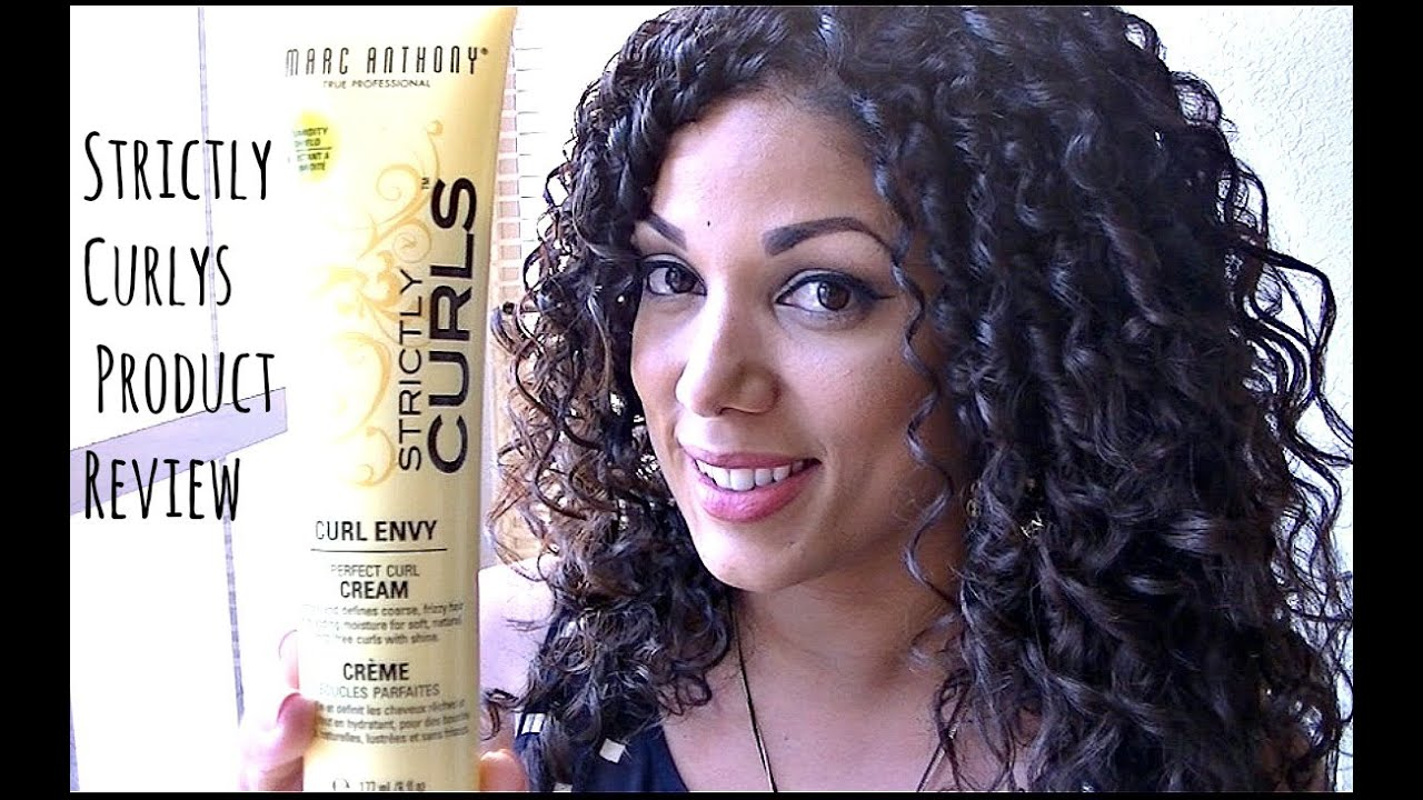 Curly Hair Product Review Amp First Impression Marc Anthony