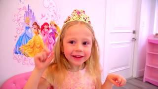 Nastya bittet Papa um neue Kleidung, Schmuck und Kosmetik