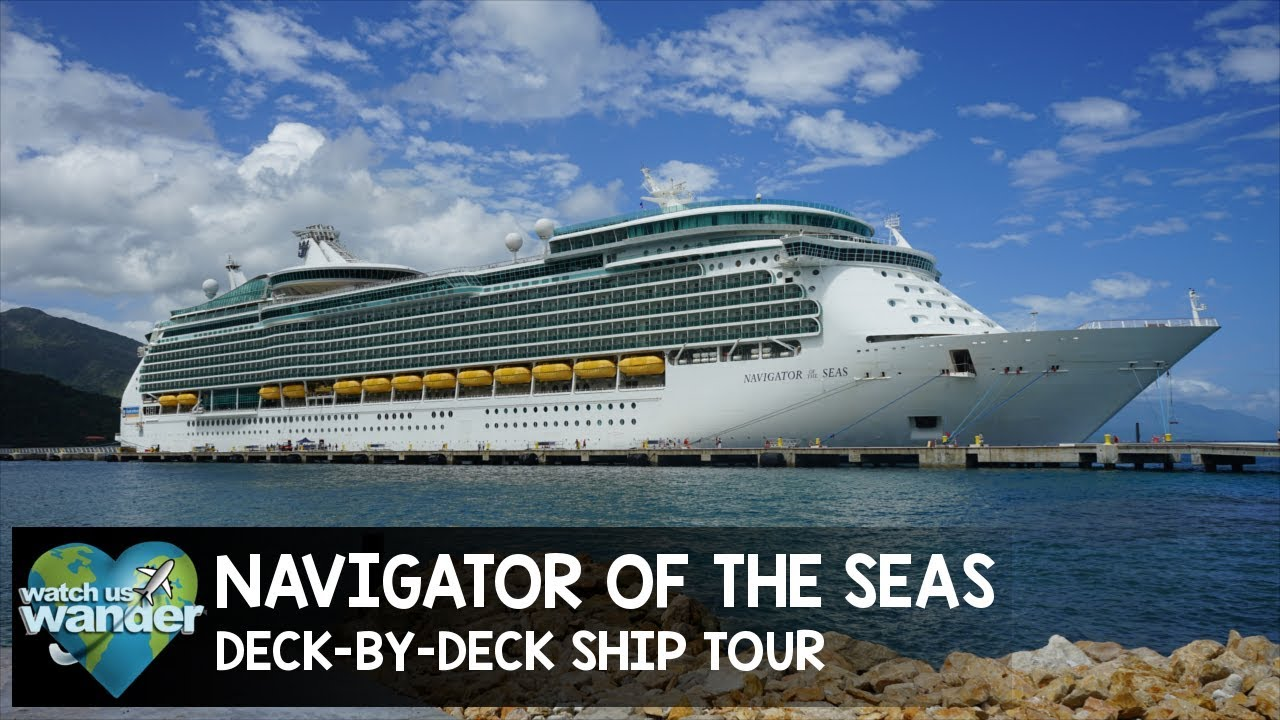 Navigator of the Seas Deck-By-Deck Ship Tour - YouTube