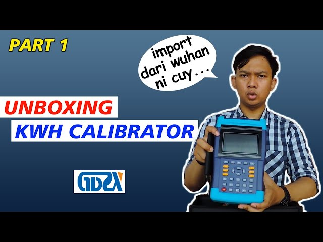 Part 1: KWH kalibrator Made in China, Unboxing