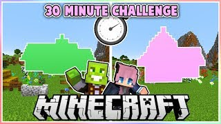 Minecraft Survival Building Challenge with LDShadowlady!