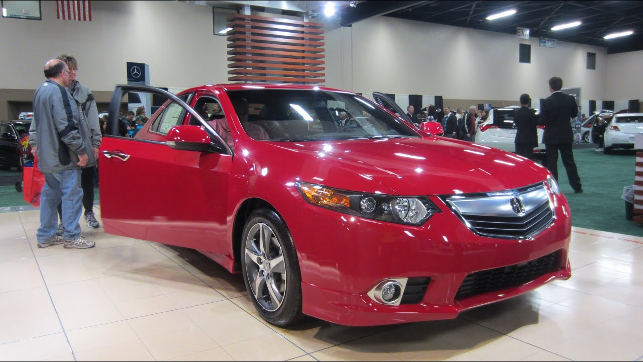2013 acura tsx special edition at 2013 toledo auto show youtube. Black Bedroom Furniture Sets. Home Design Ideas