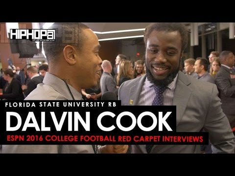 Florida State RB Dalvin Cook Talks the Doak Walker Award & More ESPN 2016 College Football Awards
