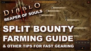 Diablo 3 Reaper of Souls: Gearing Up Quickly (Get to Torment 1) + Split Bounty Farming Guide
