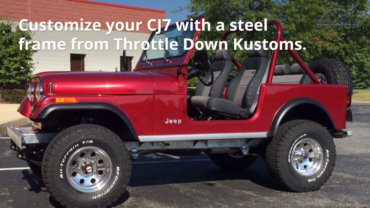 hight resolution of jeep cj7 frame