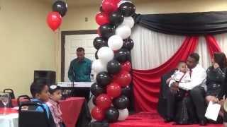 Birthday Indian Karaoke Performance - Arishneel Ram