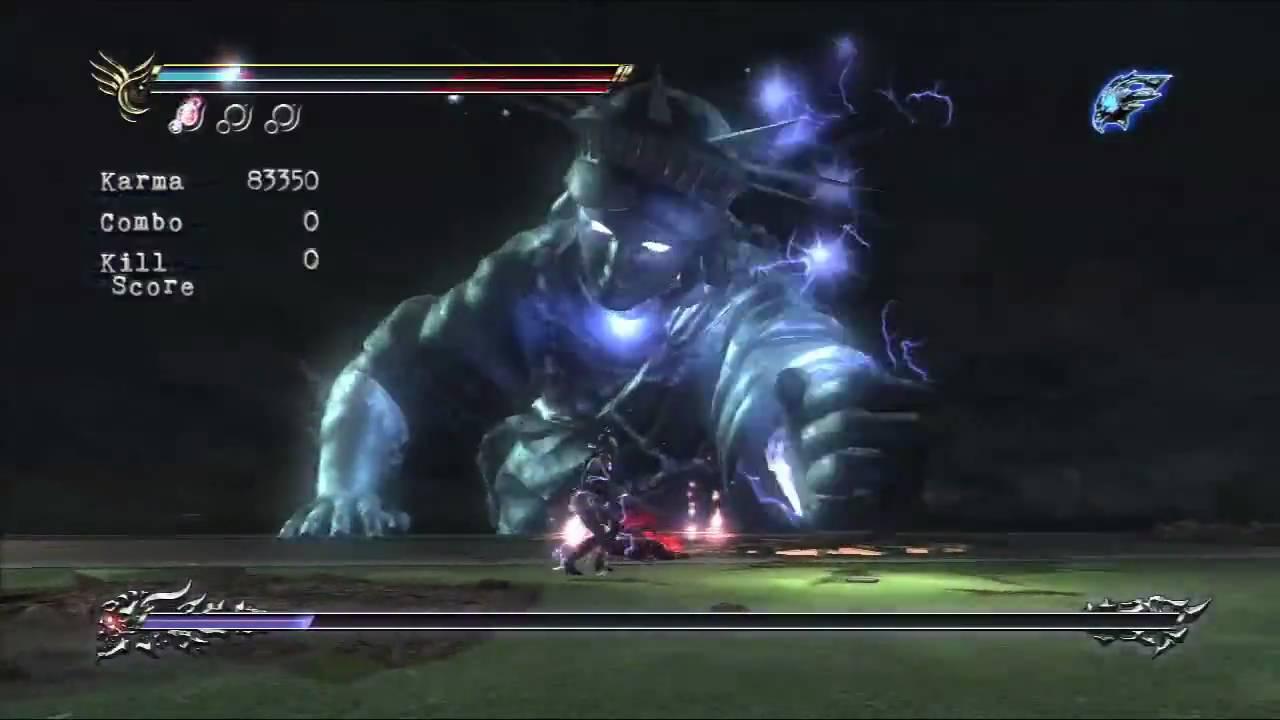 Ninja Gaiden Sigma 2 Statue Of Liberty Boss Battle True Hd