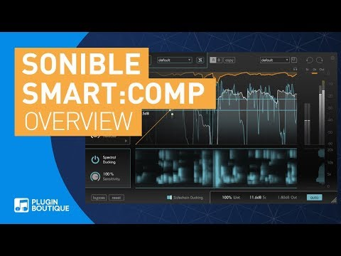 Smart:comp By Sonible | AI Enhanced Spectral Compressor | Tutorial & REview Of Key Features