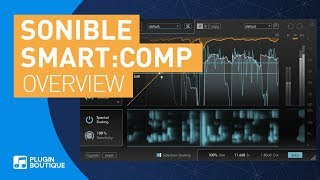 smart:comp by Sonible   AI Enhanced Spectral Compressor   Tutorial & REview of Key Features