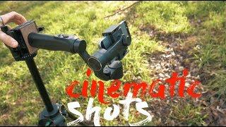 Create Cinematic Shots with the Zhiyun Smooth Q  3 Axis Gimbal! (Slider, Jib, and Pan!)