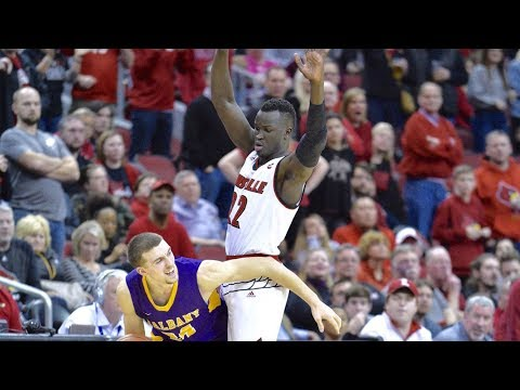 Louisville Cardinals vs Albany Great Danes 2017-12-21 (Full Game) ᴴᴰ