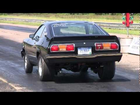 1978 Mustang Cobra Ii Burnout Race Youtube