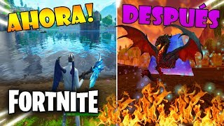 NEW ENEMY IN FORTNITE *A DRAGON* SECRETS AND THEORIES WILL BE TRAVEL BY ROAD