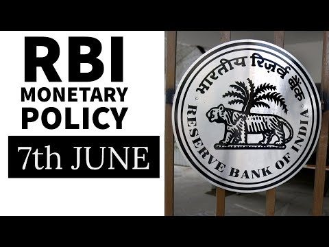 2nd Bi-Monthly RBI Monetary Policy Statement 2017 - Full analysis - Banking Awareness for Bank PO