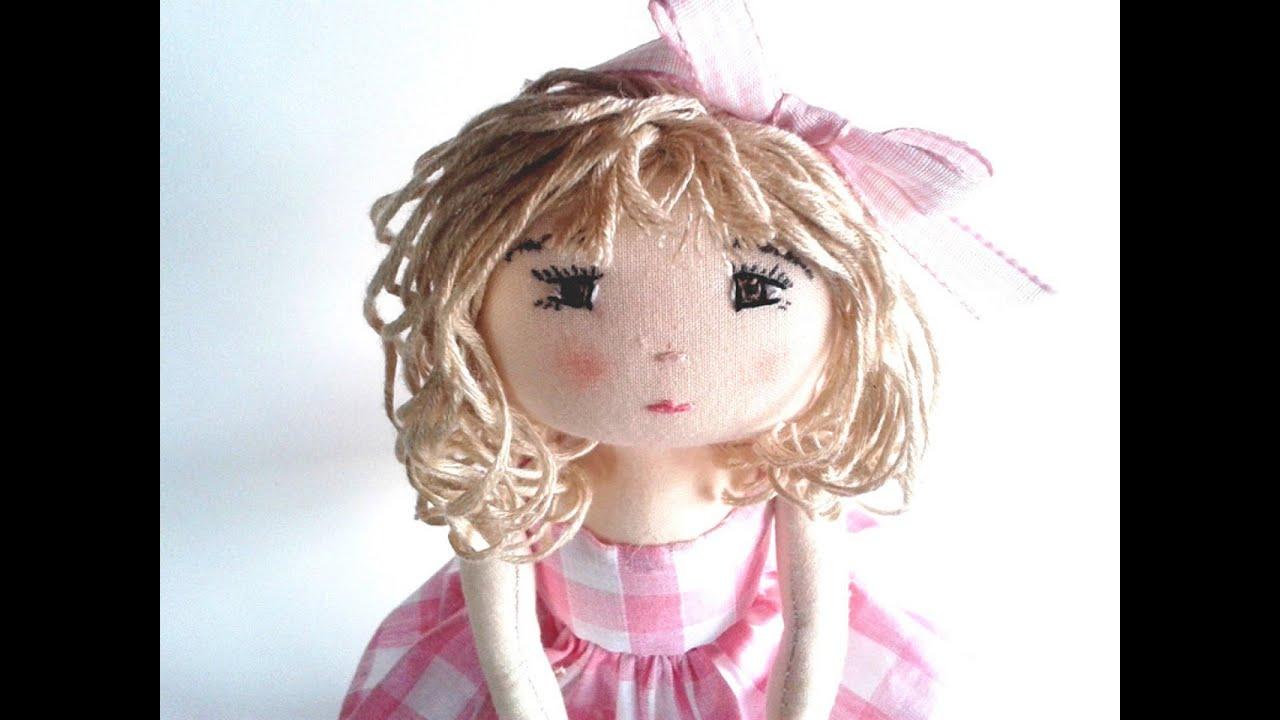 Dolls Diy Youtube Channel Rag Doll Sewing Pattern Youtube