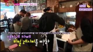[ENG] 150210 Roommate Season 2 Ep 19: Jackson and Youngji (Jackji) Cut