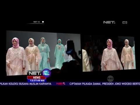 "Designer Anniesa Hasibuan Usung Tema ""The Jakarta"" di Jakarta Fashion Week 2016 - NET12"
