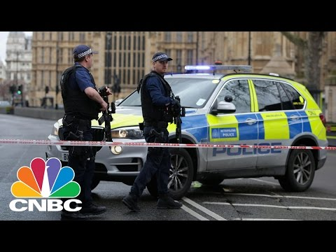 Shots Fired Outside UK Parliament In London | CNBC