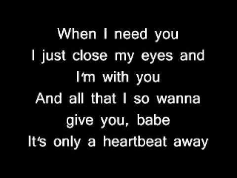 When i need you -Leo Sayer (with lyrics ) [HQ]