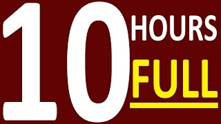 10 HOURS - FULL COURSE. ENGLISH GRAMMAR LESSONS FOR BEGINNERS AND PRE INTERMEDIATE