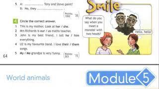 5 класс  Английский язык  Англ  в фокусе  Контрольная работа  Домашнее задание страница 64