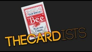 Deck Review - Bee Club Special Red Playing Cards - Printed By the USPCC